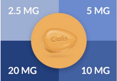 dosagens de Cialis